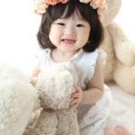 可愛い1歳バースデーフォト♡